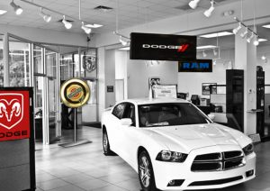 Attractive Indoor Dealership Signage